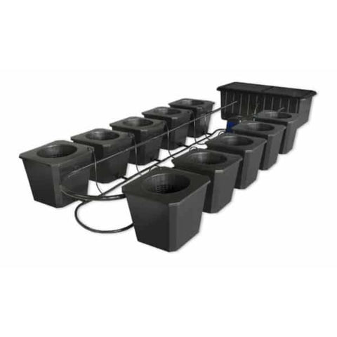 SuperCloset Hydroponic Grow System BubbleFlow Bucket 10 SuperCloset SuperPonics Hydroponic Systems