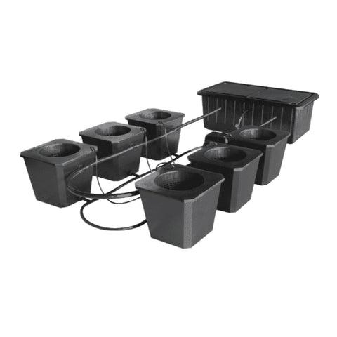 SuperCloset Hydroponic Grow System BubbleFlow Bucket 6 SuperCloset SuperPonics Hydroponic Systems