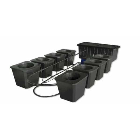 SuperCloset Hydroponic Grow System BubbleFlow Bucket 8 SuperCloset SuperPonics Hydroponic Systems