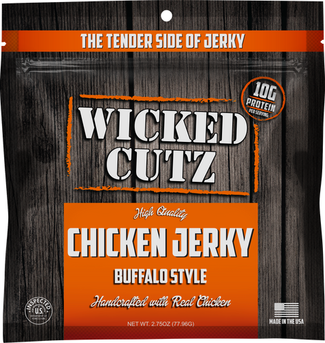 Wicked Cutz Chicken Jerky