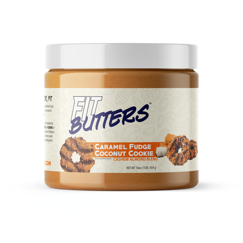 Fit Butters Caramel Fudge Coconut Cookie Cashew Almond Butter