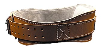 Leather Contour Belt
