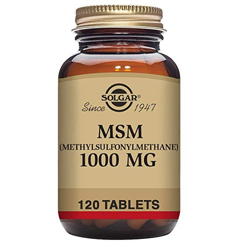 MSM 1000mg 120 tablets