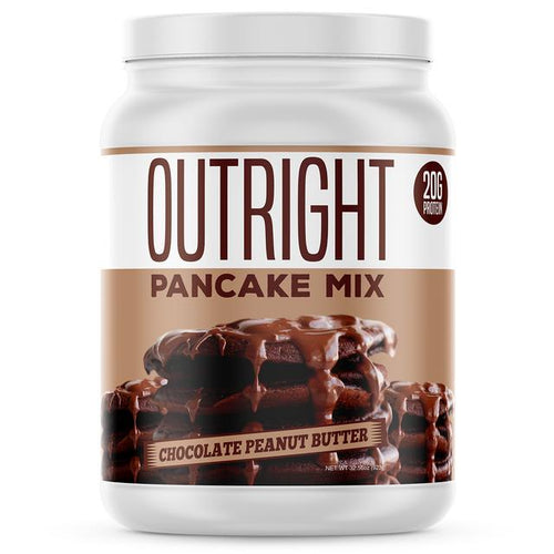Outright Protein Pancake Mix Chocolate Peanut Butter