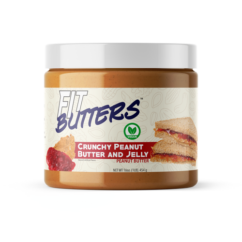 Fit Butter's Crunchy Peanut Butter & Jelly