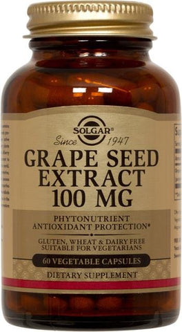 Grape Seed Extract 100mg 60Vcaps
