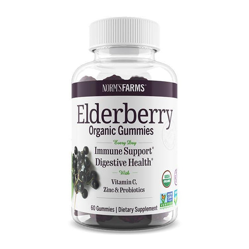 Elderberry Gummies w/ Probiotics