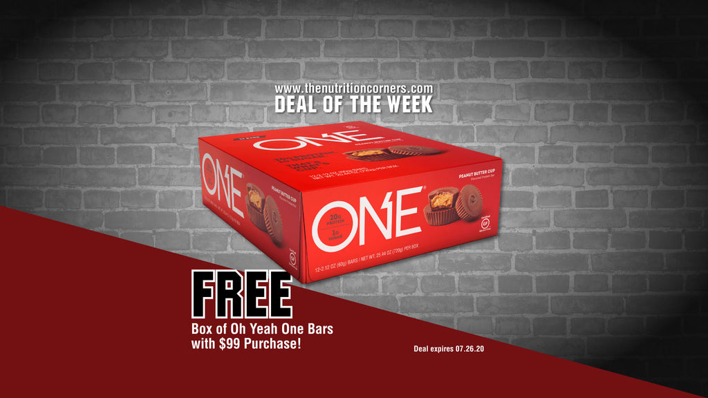 Deal of the week: FREE box of One Bars