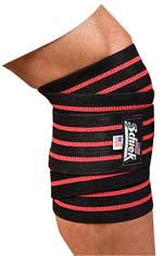 Black Line Knee Wraps