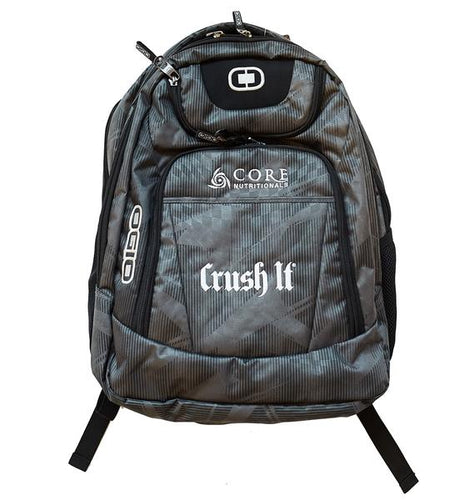 Crush It Apparel OGIO White Back Pack