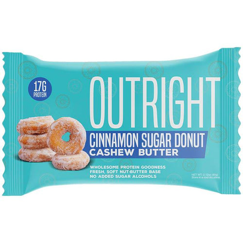 Outright  Cinnamon Sugar Donut Cashew Butter