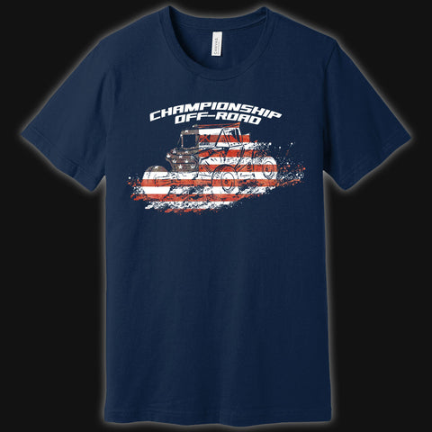 Red, White, & Off-Road SxS Tee