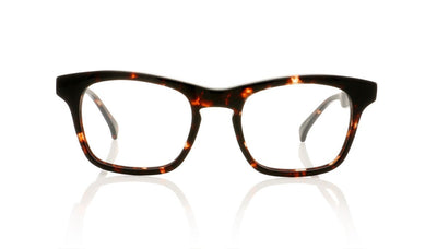 AM Eyewear Dirac O4 TT Transparent Tort Glasses at OCO