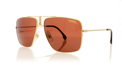 Carrera 1006/S J5GW6 Gold Sunglasses at OCO