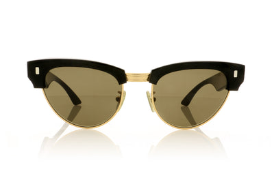 Céline CL40059U 30E Black Gold Sunglasses at OCO