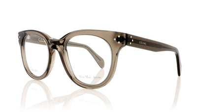 Céline CL41302 I73 Transparent Olive Glasses