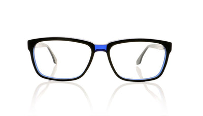 Claire Goldsmith Curtis 4 Black Indigo Glasses