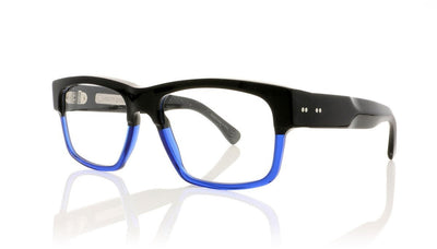 Claire Goldsmith King 4 Black On Indigo Glasses