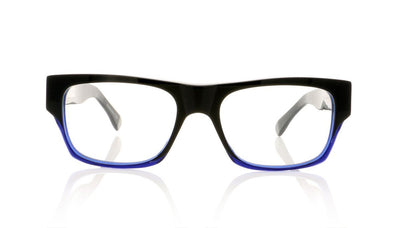 Claire Goldsmith Lomax 3 Blck Indgo Glasses at OCO