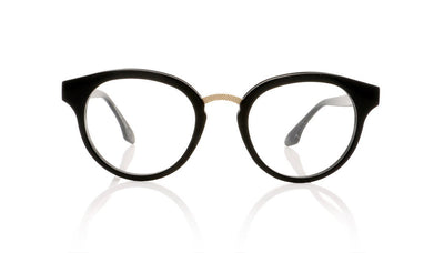 Claire Goldsmith Rixon 1 Black Glasses