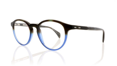 Claire Goldsmith Robinson 2 Tortoise Blue Glasses at OCO