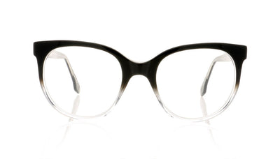 Claire Goldsmith Rousseau 5 Black Top Hat Glasses at OCO