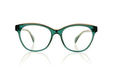 Claire Goldsmith Stanbury 3 Bottle green Glasses