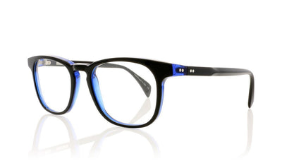 Claire Goldsmith Weston 2 Blck Indgo Glasses at OCO
