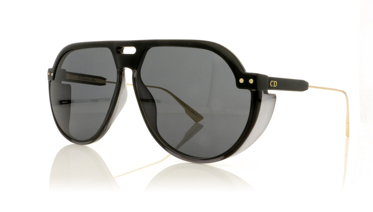 Dior CLUB3 08AIR Black Grey Sunglasses