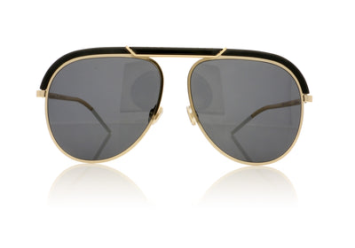 Dior DESERTIC 2M22K Black Gold Sunglasses