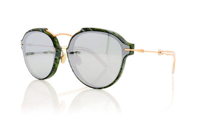 Dior Eclat GC1 Green Marble Sunglasses
