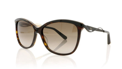 Dior Metaleyes 2 6NY Dark Havana Sunglasses at OCO