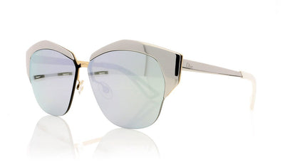 Dior Mirrored D4W Palladium Sunglasses at OCO