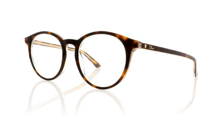Dior Montaigne15 G9Q Havana Glasses