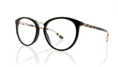 Dior Montaigne 39 Montaigne39 L59 Black Havana Spotted Glasses
