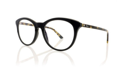 Dior Montaigne 41 CF2 Black Glasses at OCO