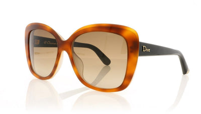 Dior Promesse 2 3IE (J6) Havana Sunglasses at OCO
