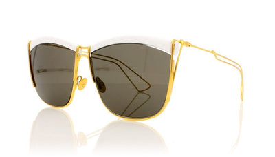 Dior So Electric 266 White Sunglasses at OCO