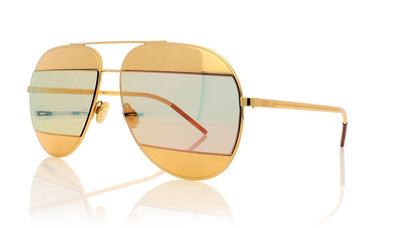 Dior Split1 0000J Rose Gold Sunglasses at OCO