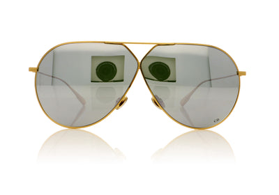 Dior STELLAIRE3 J5GDC Gold Sunglasses