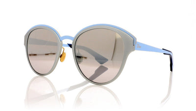 Dior Sun RCV Matt Silver Sunglasses at OCO