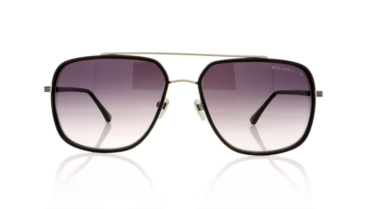 8d2655af987 DITA Avocet Two 21009 A Mat Black Sunglasses