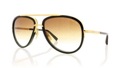 DITA Mach Two DRX-2031 B Shiny 18K Gold Sunglasses