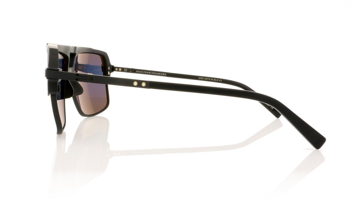 31b7005d6918 DITA Mach Four DRX-2070 B Matte Black Sunglasses at OCO