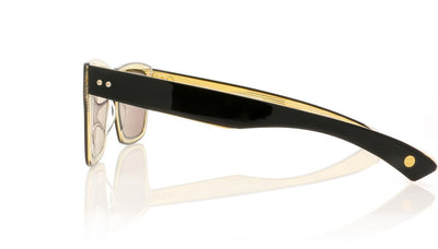 DITA Insider Two DRX-2090 A-T-BLK Black Sunglasses at OCO