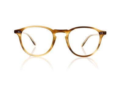 Garrett Leight Hampton 1001 KHT Khaki Tortoise Glasses at OCO