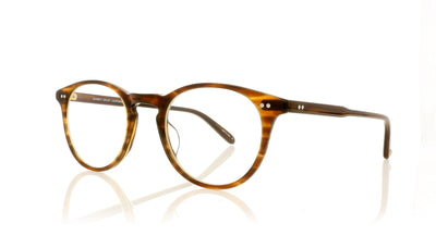 Garrett Leight Winward 1050 BRT Brandy Tortoise Glasses at OCO