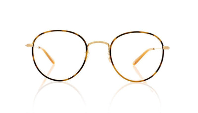 Garrett Leight Paloma MTO-MG Matte Tortoise Glasses at OCO