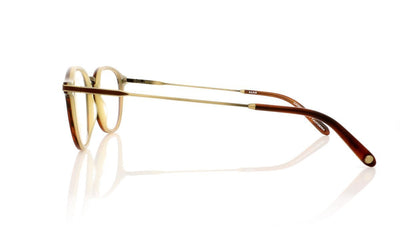 Garrett Leight Hampton Combo MWHT Matte Whiskey Tortoise Glasses at OCO