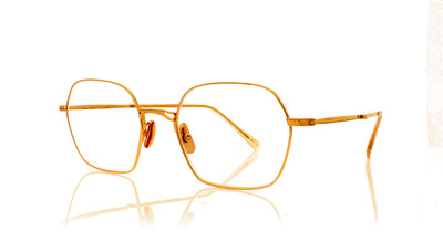 Mr. Leight Shi 18KRG/BLSM Rose Gold Glasses at OCO